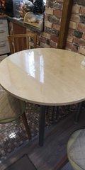 Скатерть круглая прозрачная диаметр 105 см толщина 1 мм