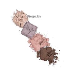 Тени для век матовые Glam Look (4-х цветные) тон 04