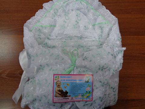 Комплект д/выписки с одеялом №2(шитьё)(зима)
