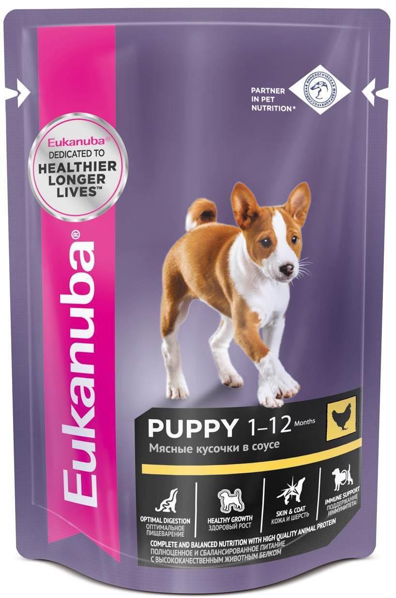 Eukanuba Пауч для щенков, Eukanuba Dog wet, с курицей в соусе 0fb32189-06c0-11e6-80e5-00155d2e8300.jpg