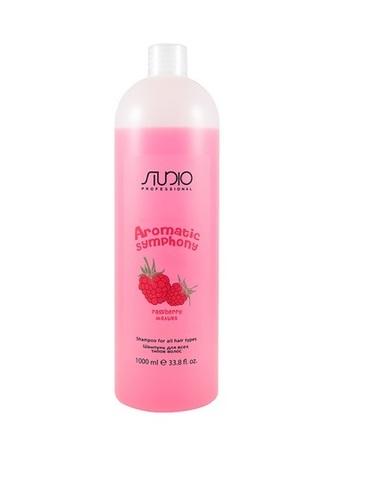Шампунь для всех типов волос Малина,Kapous Aromatic,1000 мл