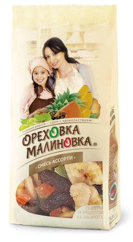 ОРЕХОВКА МАЛИНОВКА Смесь Ассорти 190 г