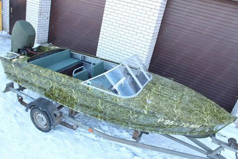 Ветровое стекло «Стандарт» на лодку Прогресс-2