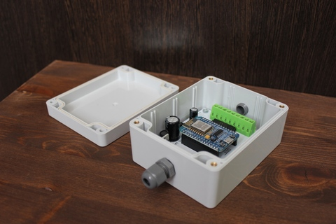 Wi-Fi control console for antenna switch 8 positions