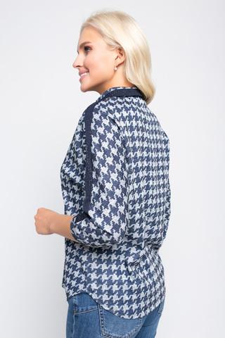 <p>Красивый трикотажный блузон из ангоры с эффектной отделкой подходит для любого случая жизни. Просто, модно, практично.</p>