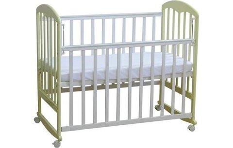 Кровать детская Фея 323 белый-ваниль