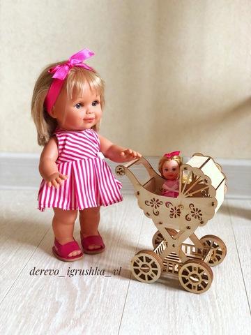 Конструктор «Коляска для Барби»