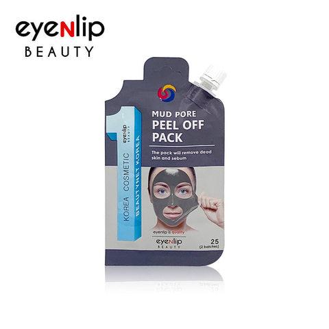 Маска-пленка для чистки пор Eyenlip mud pore peel off pack