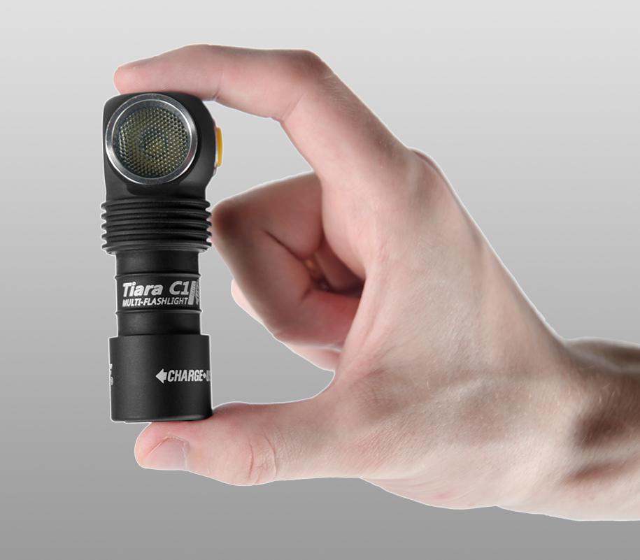 Мультифонарь Armytek Tiara C1 Pro Magnet USB (тёплый свет) - фото 2