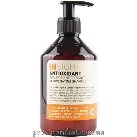Insight Antioxidant Rejuvenating Shampoo - Шампунь тонизирующий