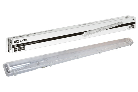 Светильник ССП 2х20Вт IP65 под LED лампу T8 TDM