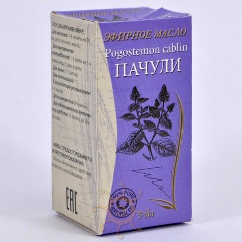 Эфирное масло Пачули Lavari, 5мл