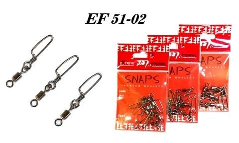 Карабин с вертлюгом Extreme Fishing арт. 51-02 №3 (упак. 7 шт.)