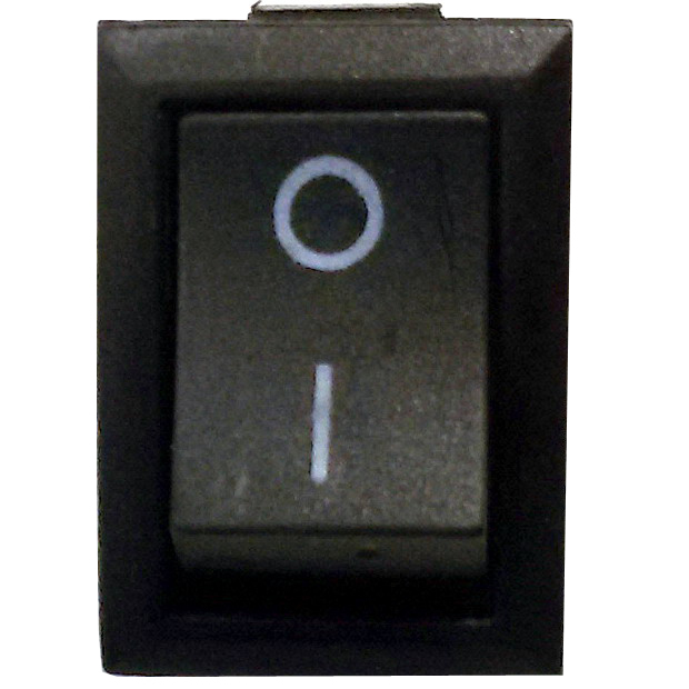 Выключатель двухконтактный KCD1-101