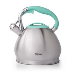 Чайник со свистком для кипячения воды JESSICA 3л (нерж.сталь)