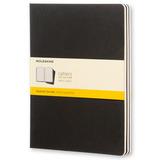 Блокнот Moleskine Cahier XLarge черный (QP322)