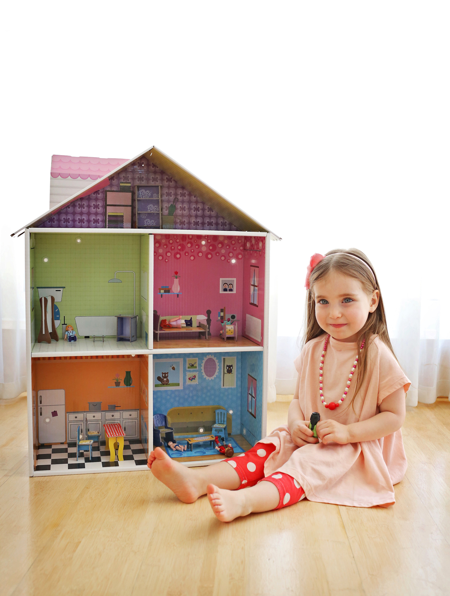 Игровой набор Krooom Кукольный домик Мелроуз