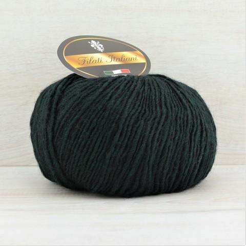 Пряжа Alpaca Fine (Альпака файн)  Темно-зеленый