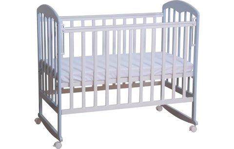 Кровать детская Фея 323 белый-лазурь