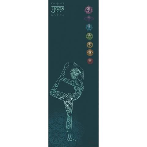 Коврик для йоги Harmony 178*61*0,3 см из микрофибры и каучука