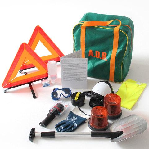 ADR комплект для опасных грузов, которым присвоен знак опасности № 6.1 (по ДОПОГ и ТР ТС 018/2011)
