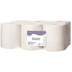 Полотенца бумажные в рулонах Luscan Professional 2-слойные 6 рулонов по 150 метров