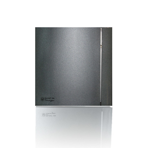 Накладной вентилятор Soler & Palau SILENT-100 CZ DESIGN-4С GREY