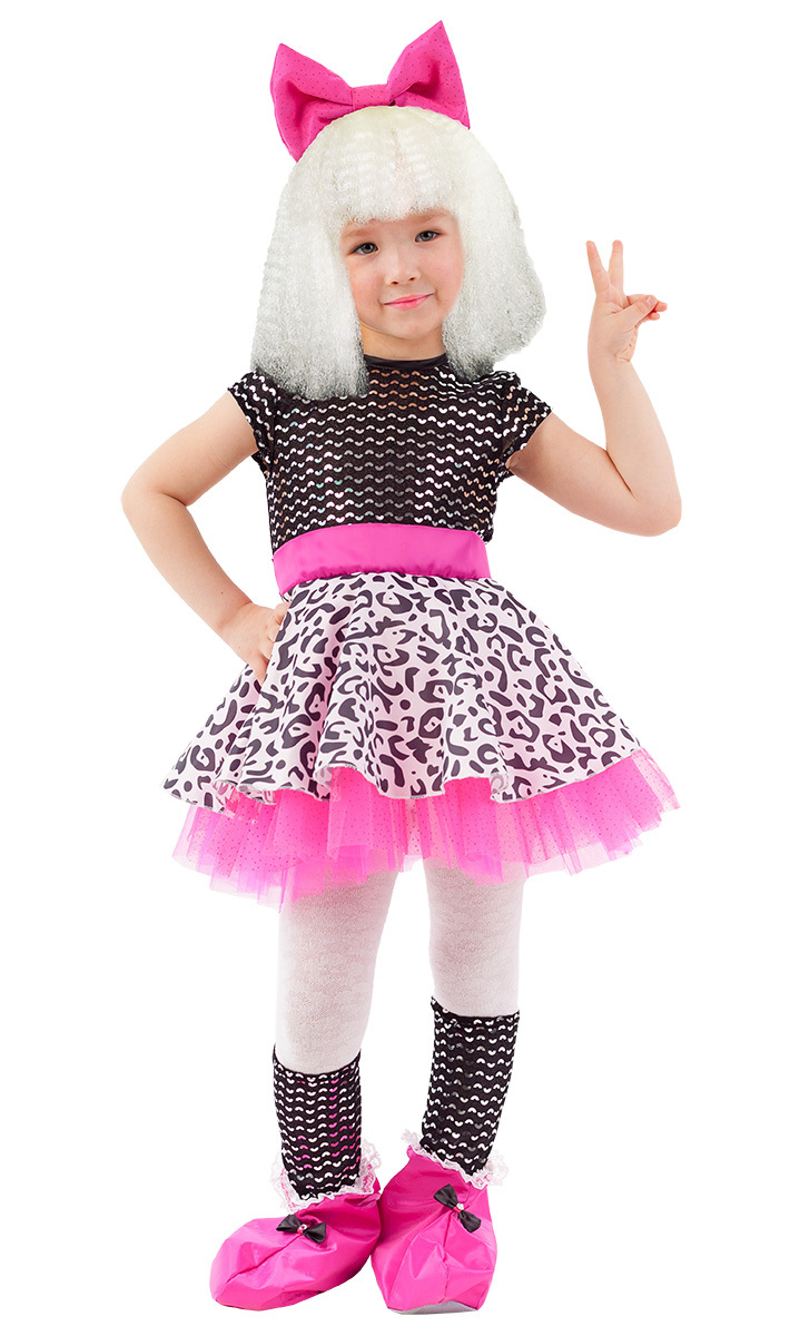 Карнавальный костюм детский Кукла Лола