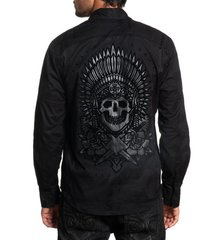 Рубашка Affliction LINEAGE L/S WOVEN