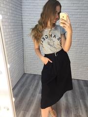 черная длинная юбка купить