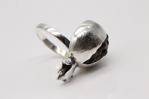 Купить кольцо серебро гранат 1012КО АР ГРГ Армения