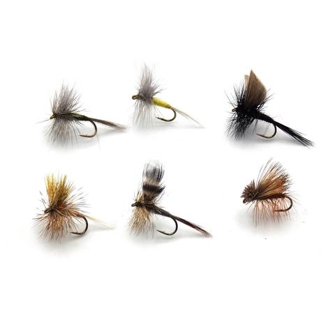 Набор сухих мушек Pacific Fly Group Classic Dry Fly №1 р. S., 6 шт. (70003761)