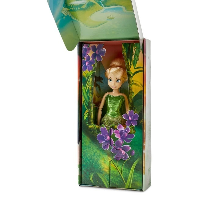 Кукла Фея Динь-Динь (Tinker Bell) с расческой в картонной коробке Disney