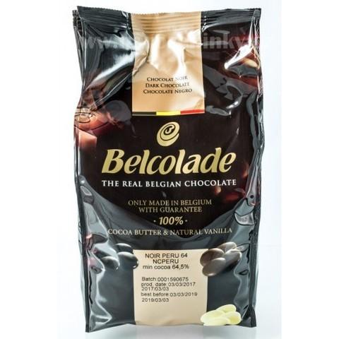 Темный шоколад Белколад / Belcolade 64,5% Перу