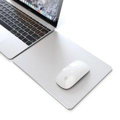 Коврик Satechi Aluminum Mouse Pad для мыши, серебряный