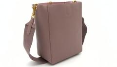 Розовая сумка два в одном с длинной ручкой