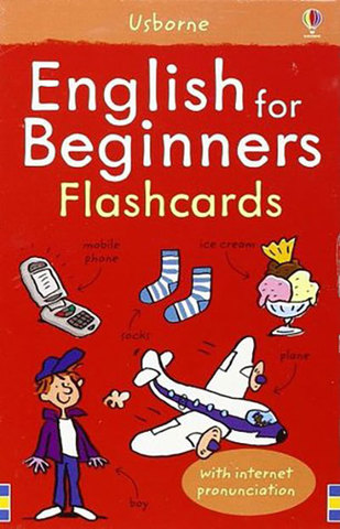 9781409509196 - English for Beginners Flashcards