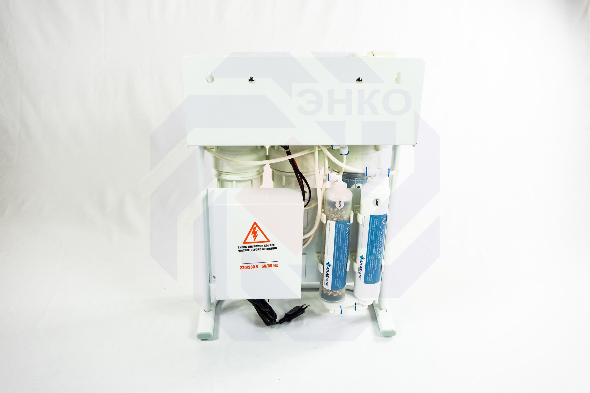 Система фильтрации с мембраной обратного осмоса ATLAS OASIS DP-F PUMP