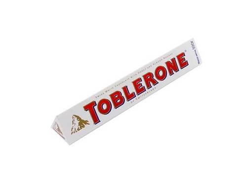 Белый шоколад Toblerone с нугой