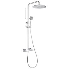Душевая система с термостатом и тропическим душем для ванны BLAUTHERM 945401RP300