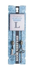 Bookmark Book Keepers  Letter - L