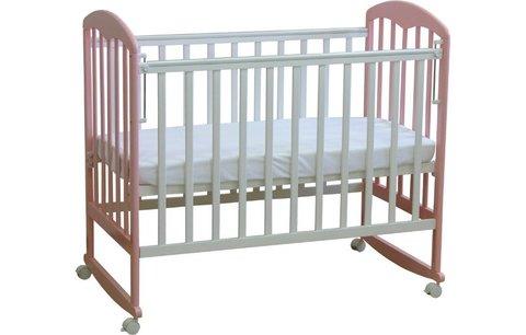 Кровать детская Фея 323 белый-магнолия