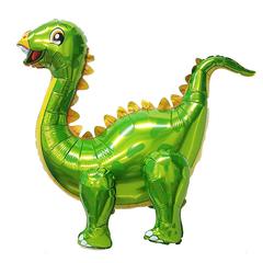 К Ходячая фигура, Динозавр Стегозавр, Зеленый, 39''/99см.