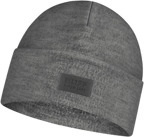 Шерстяная шапка с флисом Buff Hat Wool Fleece Grey фото 1