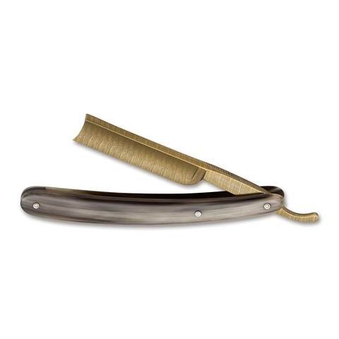 Опасная бритва Boker 140524DAM Gold Damast Horn 5/8