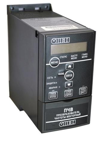 Преобразователь частоты векторный ПЧВ102-1К5-В Овен