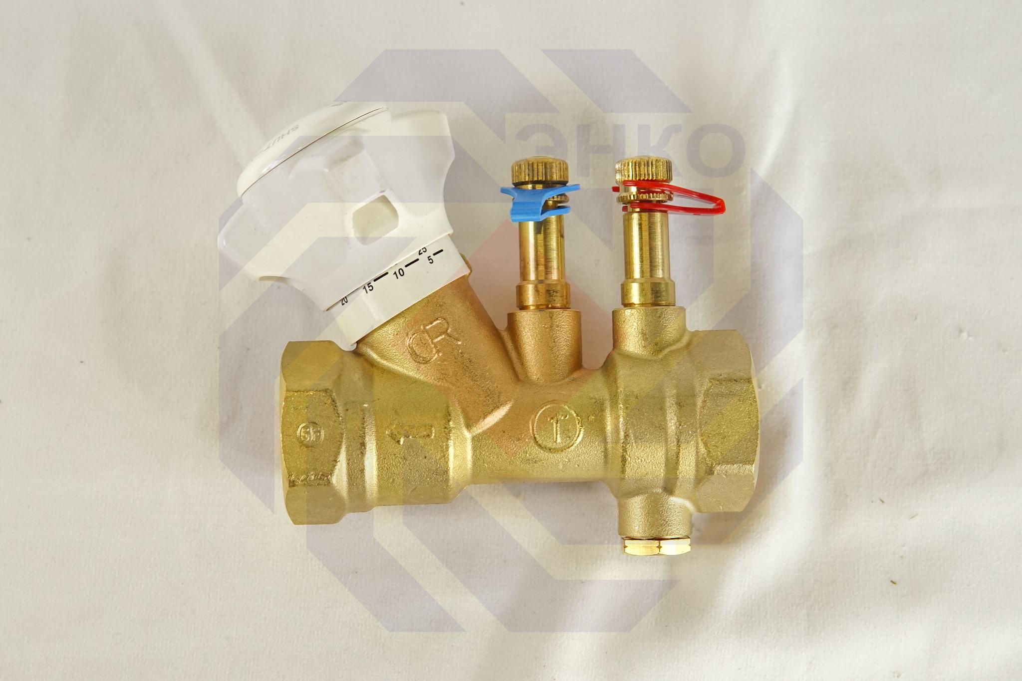 Клапан балансировочный GIACOMINI R206B DN 25