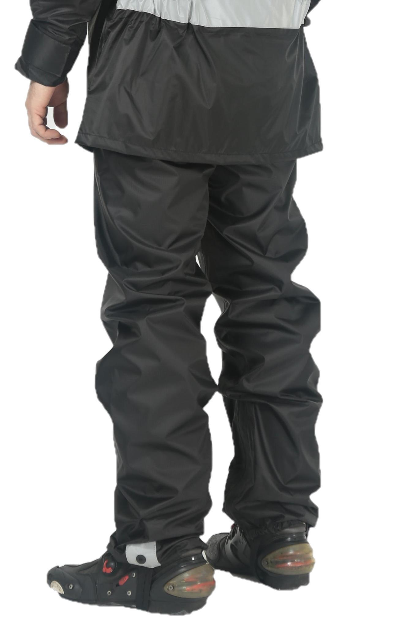 HYPERLOOK ADVENTURE Rain pants black