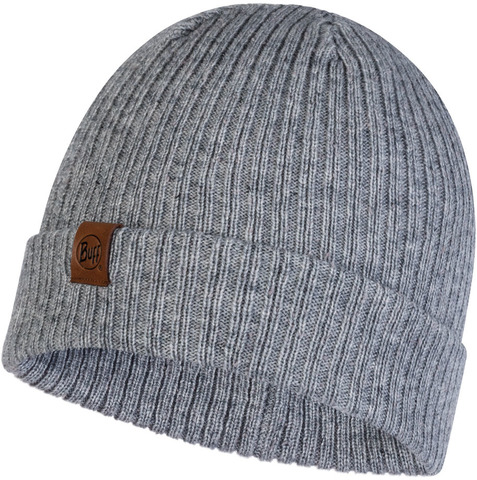 Вязаная шапка Buff Hat Knitted Kort Light Grey фото 1