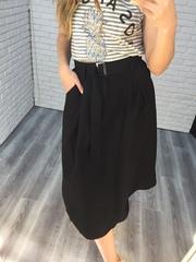 черная длинная юбка nadya